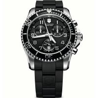 Herren Victorinox Schweizer Militär Maverick GS Chronograf Uhr