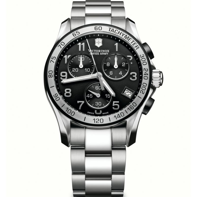 Mens Victorinox Swiss Army Chrono Classic Chronograph Watch 241403