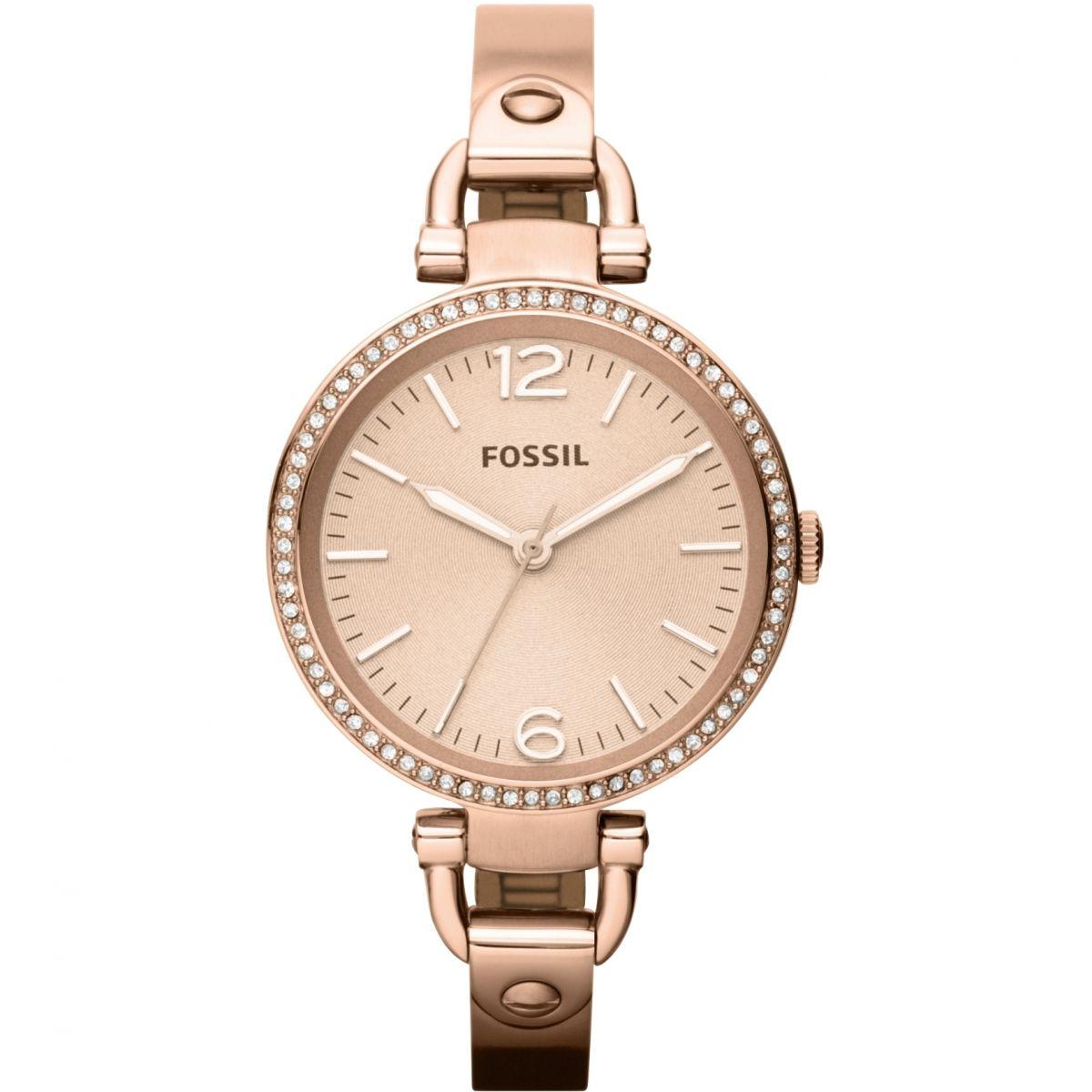 ladies fossil georgia watch es3226 watchshopcom�