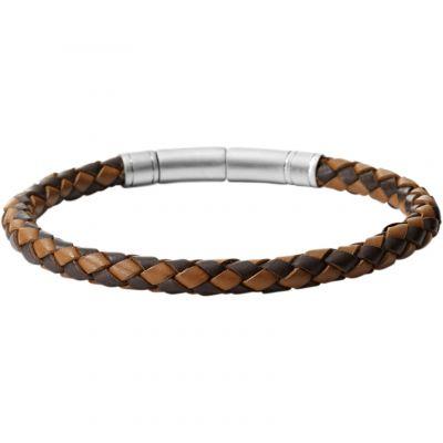 Herren Fossil Edelstahl Armband