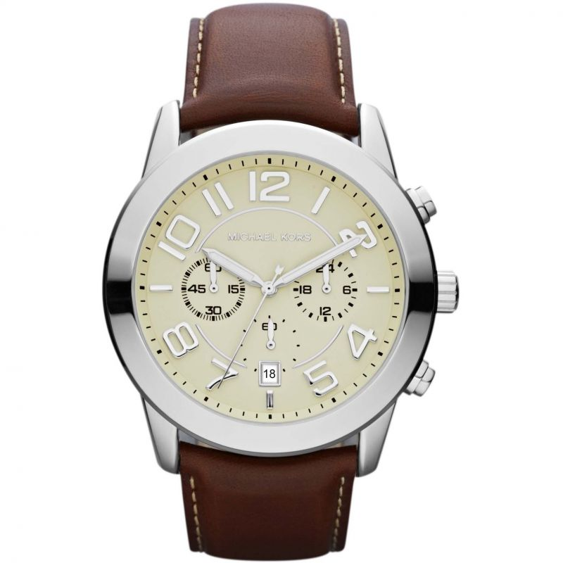 Mens Michael Kors Mercer Chronograph Watch MK8292