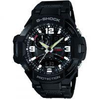Herren Casio G-Shock Premium Sky Cockpit Alarm Chronograph Watch GA-1000FC-1AER