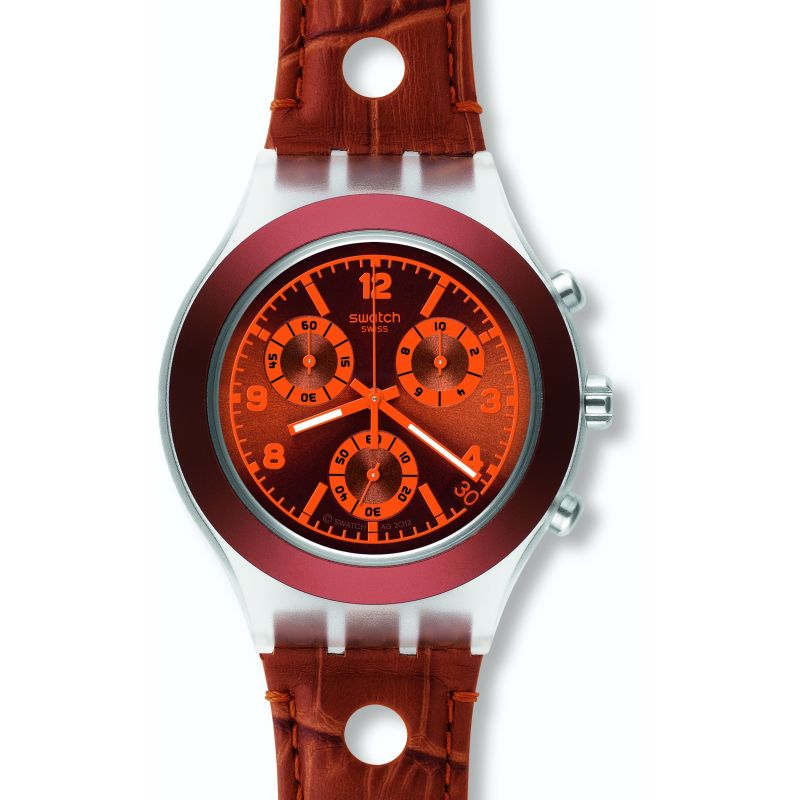 Mens Swatch Rouille Watch SVCK4073