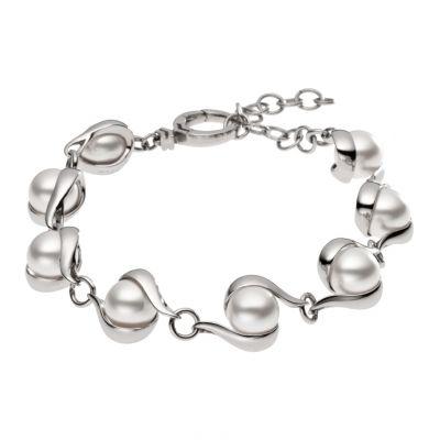 Damen Skagen Edelstahl Meere Armband