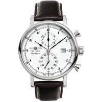 Herren Zeppelin Nordstern Chronograf Uhr