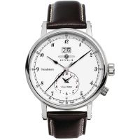 Herren Zeppelin Nordstern Dual Time Watch 7540-1