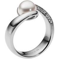 Damen Skagen Edelstahl Größe M.5 Meere Ring Größe M.5