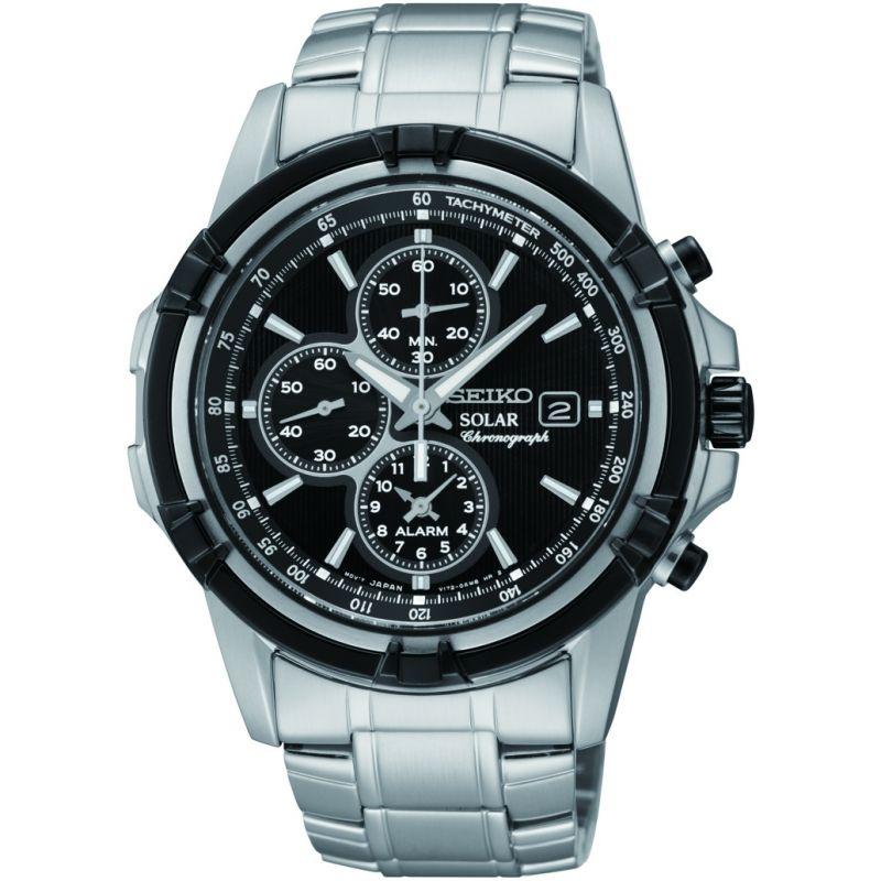 homme Seiko Alarm Chronograph Watch SSC147P1