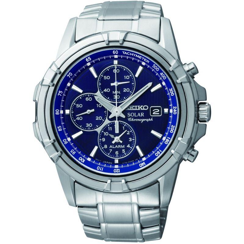 homme Seiko Alarm Chronograph Watch SSC141P1