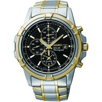 homme Seiko Alarm Chronograph Watch SSC142P1