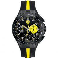 Herren Scuderia Ferrari SF103 Textures Of Racing Chronograf Uhr