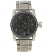 Mens Animal Burn Metal Watch