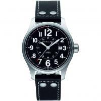 Herren Hamilton Khaki Field Polizist Automatik Uhr