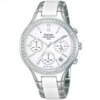 Ladies Pulsar Chronograph Watch PT3305X1