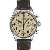 Herren Junkers Cockpit JU52 Chronograph Watch 6180-5