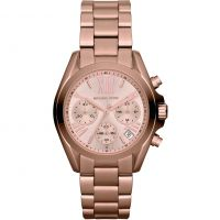 Damen Michael Kors Mini Bradshaw Chronograph Watch MK5799