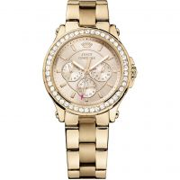 Damen Juicy Couture Pedigree Chronograph Watch 1901050