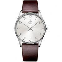Herren Calvin Klein klassisch Uhr