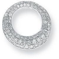 Weißgold Diamant Anhänger