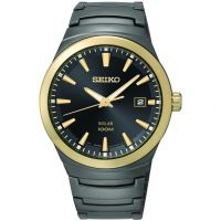 Herren Seiko solar betrieben Uhr