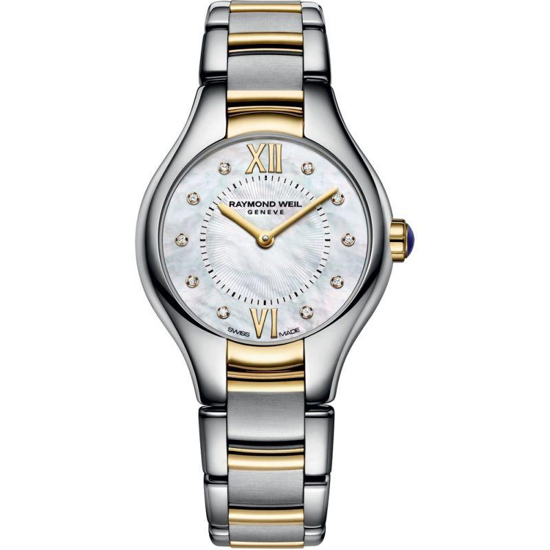Damen Raymond Weil Noemia 24mm Diamond Watch 5124-STP-00985