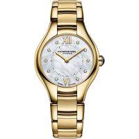Damen Raymond Weil Noemia 24mm Diamant Uhr