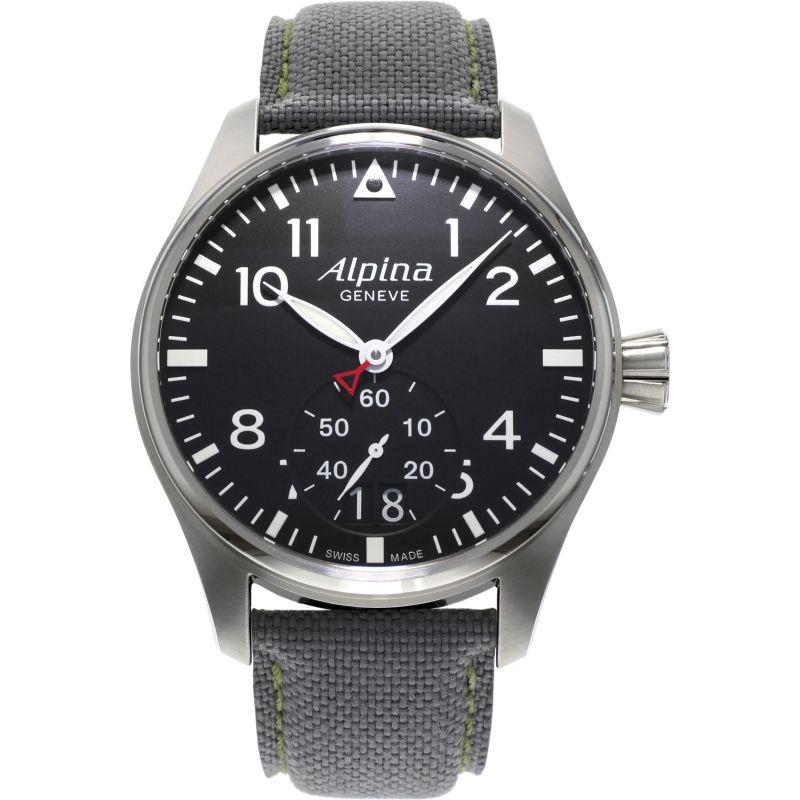 Herren Alpina Startimer Pilot Watch AL-280B4S6