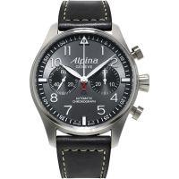 homme Alpina Startimer Pilot Chronograph Watch AL-860GB4S6