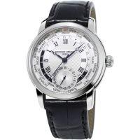 Herren Frederique Constant klassisch hergestellt Worldtimer Automatik Uhr