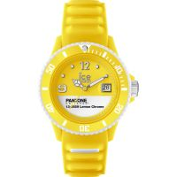 Ice-Watch Pantone Universe Lemon Chrome Unisex horloge Geel PAN.BC.LEC.U.S.13