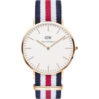 Herren Daniel Wellington Canterbury 40mm Uhr