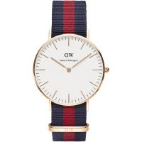 Damen Daniel Wellington Oxford Rose 36mm Watch DW00100029