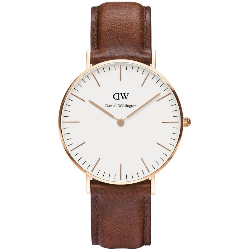 Damen Daniel Wellington St Mawes Rose 36mm Watch DW00100035