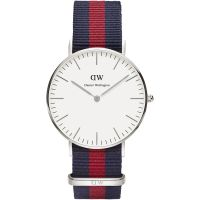 Zegarek damski Daniel Wellington Oxford Silver 36mm DW00100046