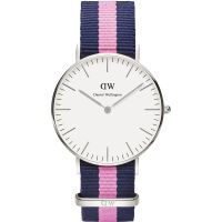 Damen Daniel Wellington Winchester Silver 36mm Watch DW00100049