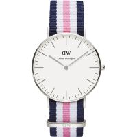 Damen Daniel Wellington Southampton Silver 36mm Watch DW00100050
