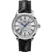 Herren Ball Trainmaster Roman Watch NM1058D-L4J-WH