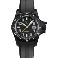 Mens Ball Engineer Hydrocarbon Spacemaster Black DLC Chronometer Automatic Watch