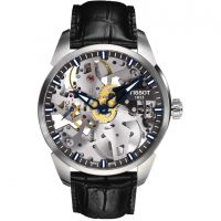 Herren Tissot Chemin Des Tourelles Squelette Watch T0704051641100