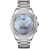 Damen Tissot T-Touch Solar Alarm Chronograph Solar Powered Watch T0752201110100