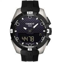 homme Tissot T-Touch Expert Solar Alarm Chronograph Watch T0914204705100