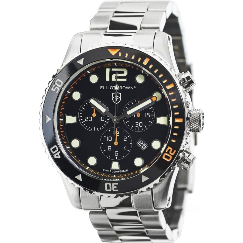 Mens Elliot Brown Bloxworth Chronograph Watch 929-005-B01