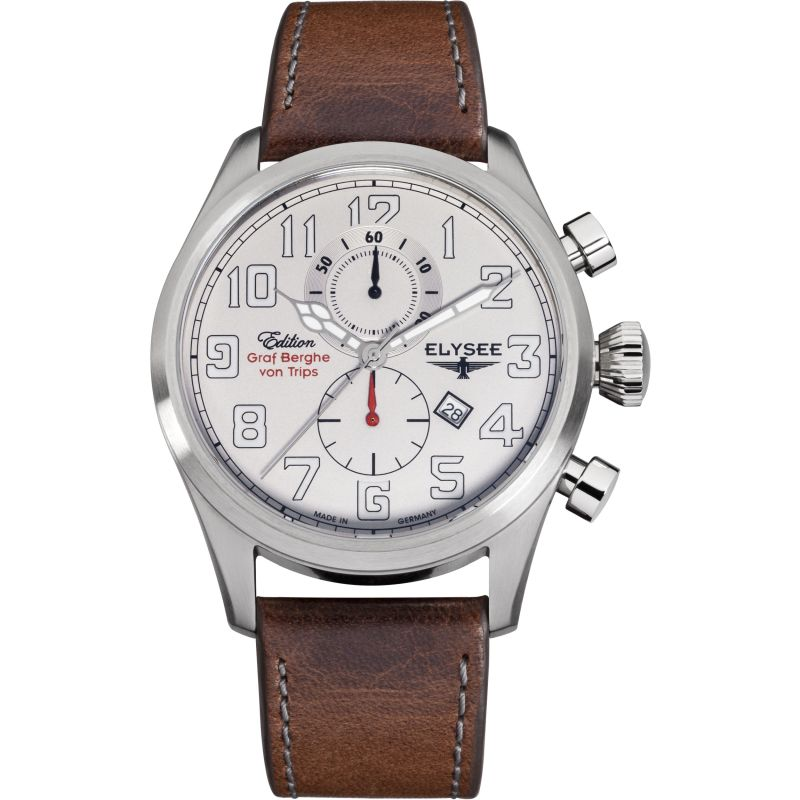 Mens Elysee Von Trips Chronograph Watch 38007