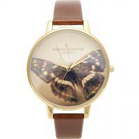 Damen Olivia Burton Woodland Schmetterling Uhr