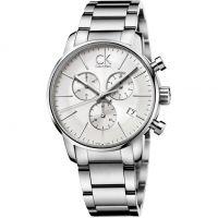 Herren Calvin Klein City Chronograf Uhr