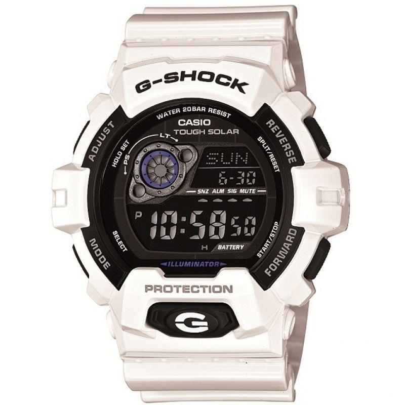 homme Casio G-Shock Alarm Chronograph Tough Solar Watch GR-8900A-7ER