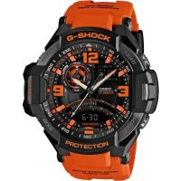 homme Casio G-Shock Sky Cockpit Alarm Chronograph Watch GA-1000-4AER