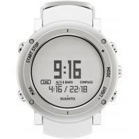 Herren Suunto Core Alu pure white Alarm Chronograph Watch SS018735000