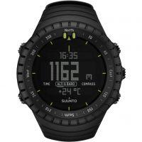 Herren Suunto Core All Black Alarm Chronograph Watch SS014279010
