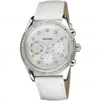 Ladies Accurist Chronograph Watch